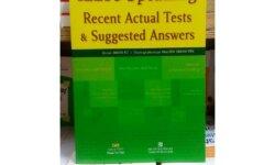 IELTS Recent Actual Tests Speaking sẽ giúp bạn bổ sung idea, từ vựng trong bài thi nói