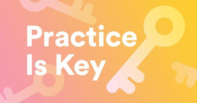 Luyện tập chính là chiếc chìa khóa của thành công