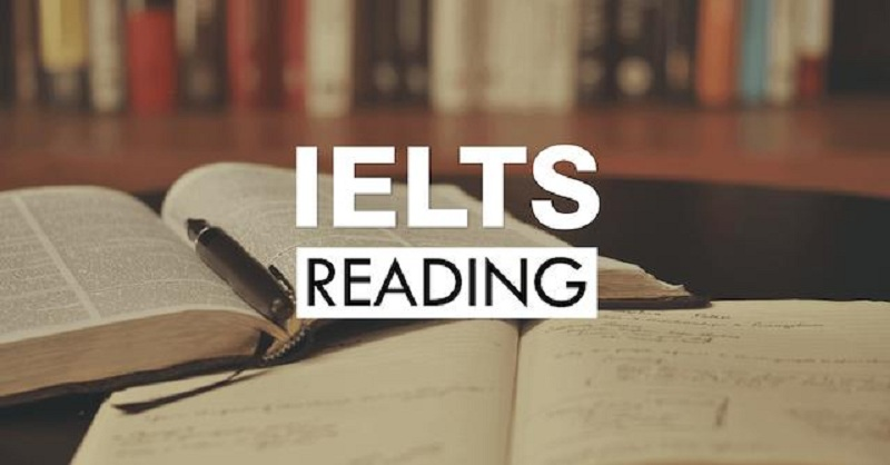 Reading là một trong những bài thi giúp nâng band điểm IELTS dễ dàng