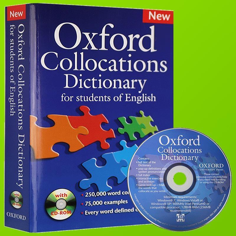 Oxford collocation dictionary la quyen tu dien ban khong the bo qua