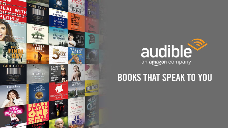 Audible - nguồn sách nói của nhân loại giúp bạn chạm mốc IELTS