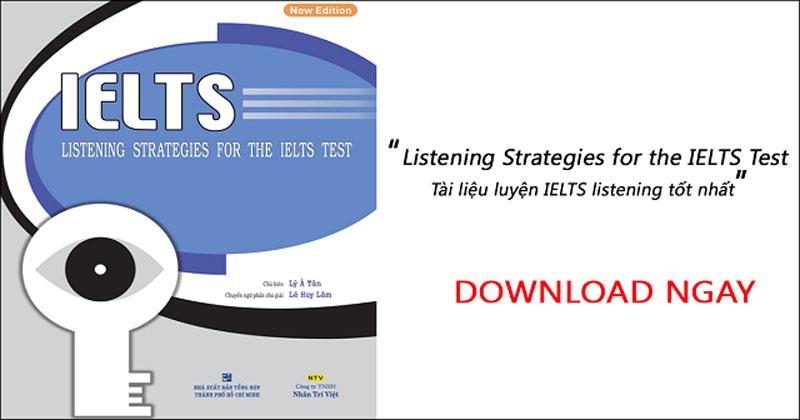 Không còn nỗi sợ nghe Tiếng Anh khi đã có Listening Strategies
