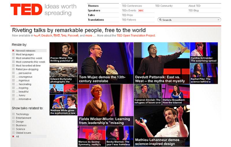 Luyện nghe Tiếng Anh học thuật cùng các chuyên gia của Ted Talk