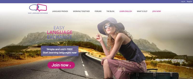 Tự tin cải thiện kỹ năng nói khi truy cập Easy Language Exchange