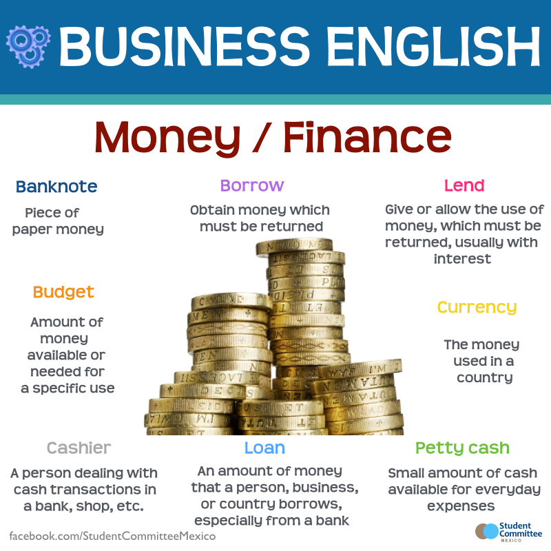 IELTS topic vocabulary Business and money