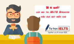 10 bi quyet lam bai ielts speaking