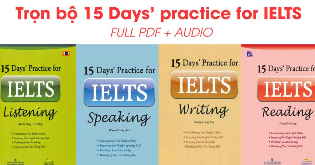 Sách học IELTS khá hay các bạn có thể tải về học online miễn phí