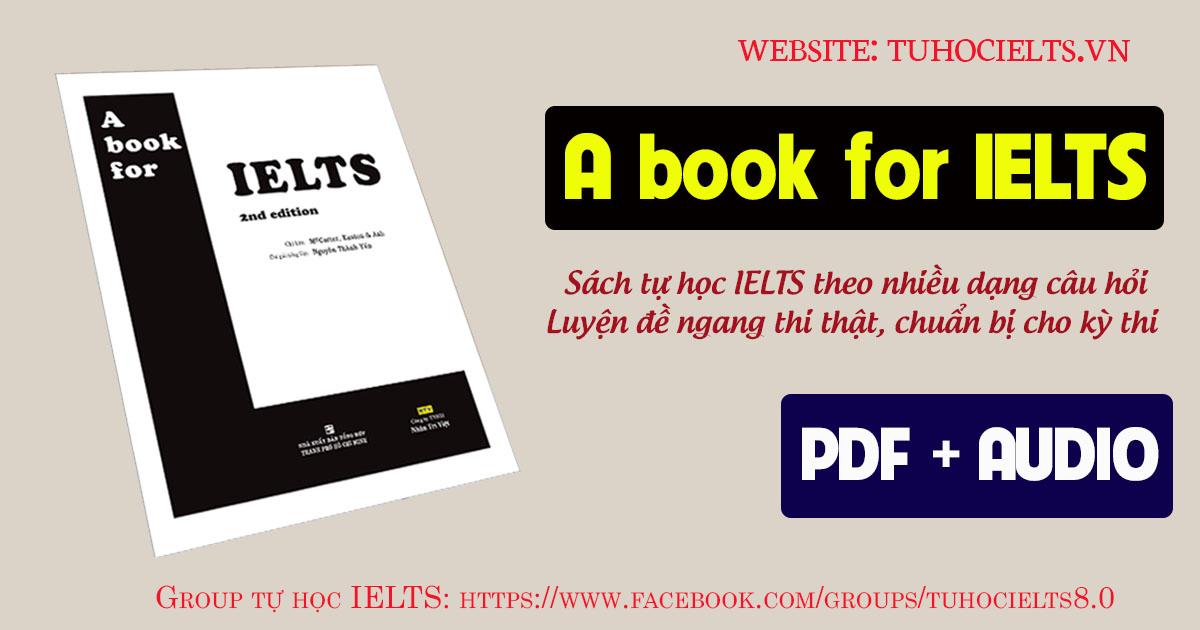 A book for IELTS - Sam McCarter tuhocielts