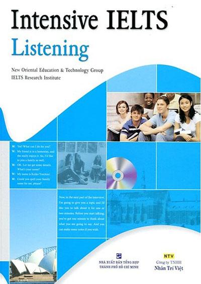 Bìa sách INTENSIVE IELTS LISTENING