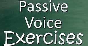 Passive voice- Bài tập câu bị động có đáp án
