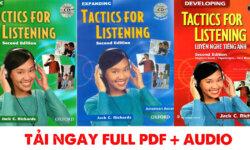 Tải sách Trọn bộ Tactics for Listening Basic – Developing – Expanding miễn phí