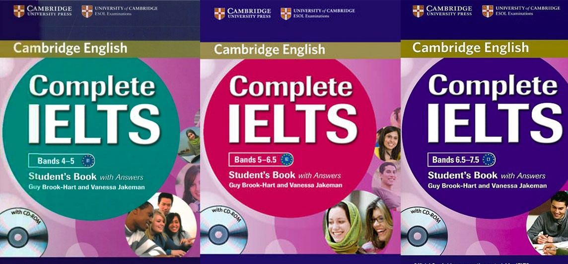 Trọn bộ Complete IELTS Level 4.0 – 7.5 IELTS