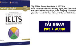The Official Cambridge Guide to IELTS – Review và tải sách miễn phí