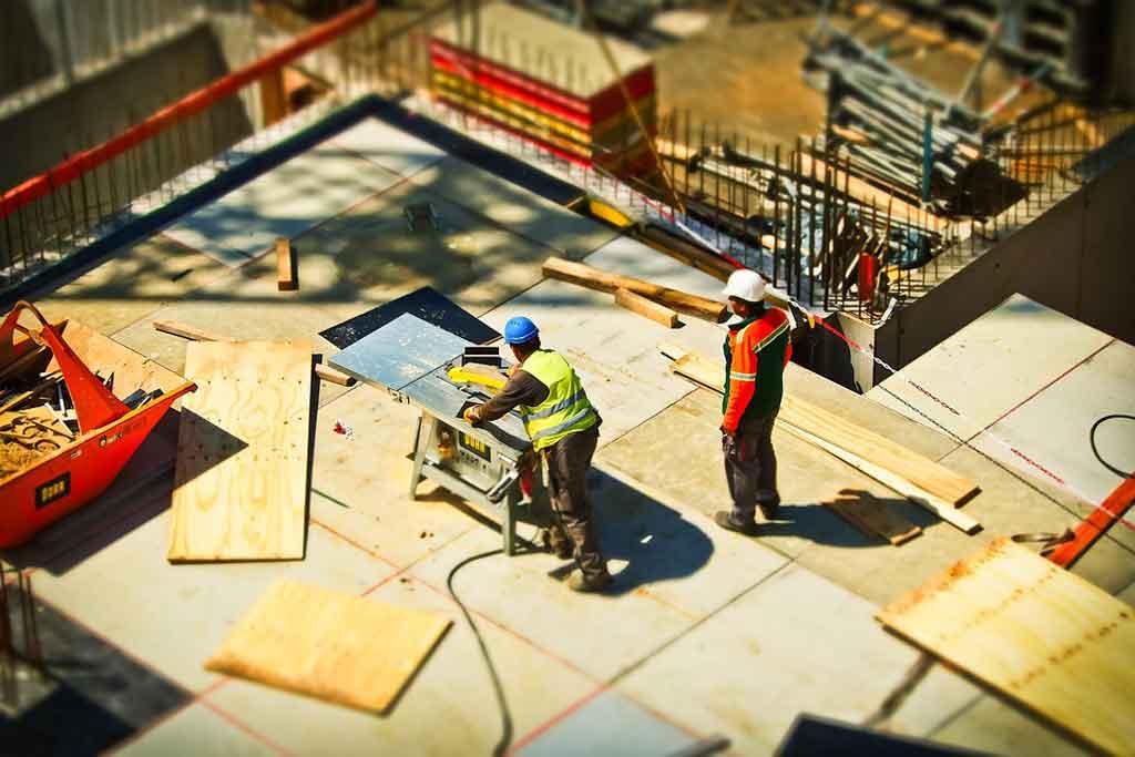 Các công việc, hệ thống liên quan xây dựng