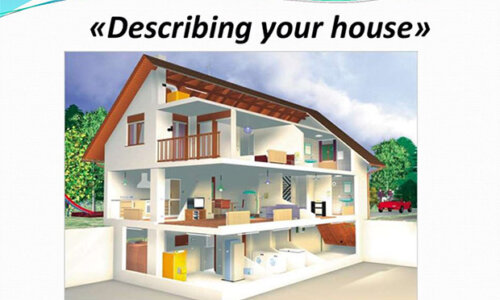 Topic Describe Your House – IELTS Speaking