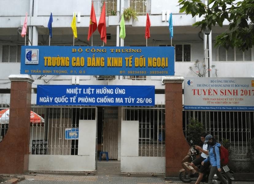 Trường Cao đẳng Kinh tế- Đối ngoại