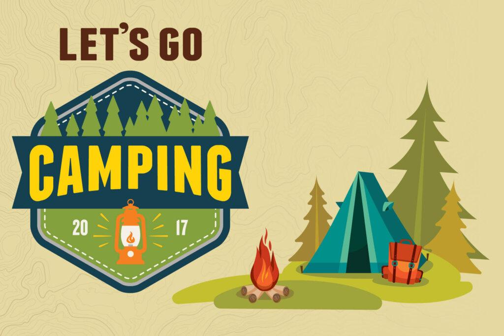 Từ vựng tiếng Anh về cắm trại