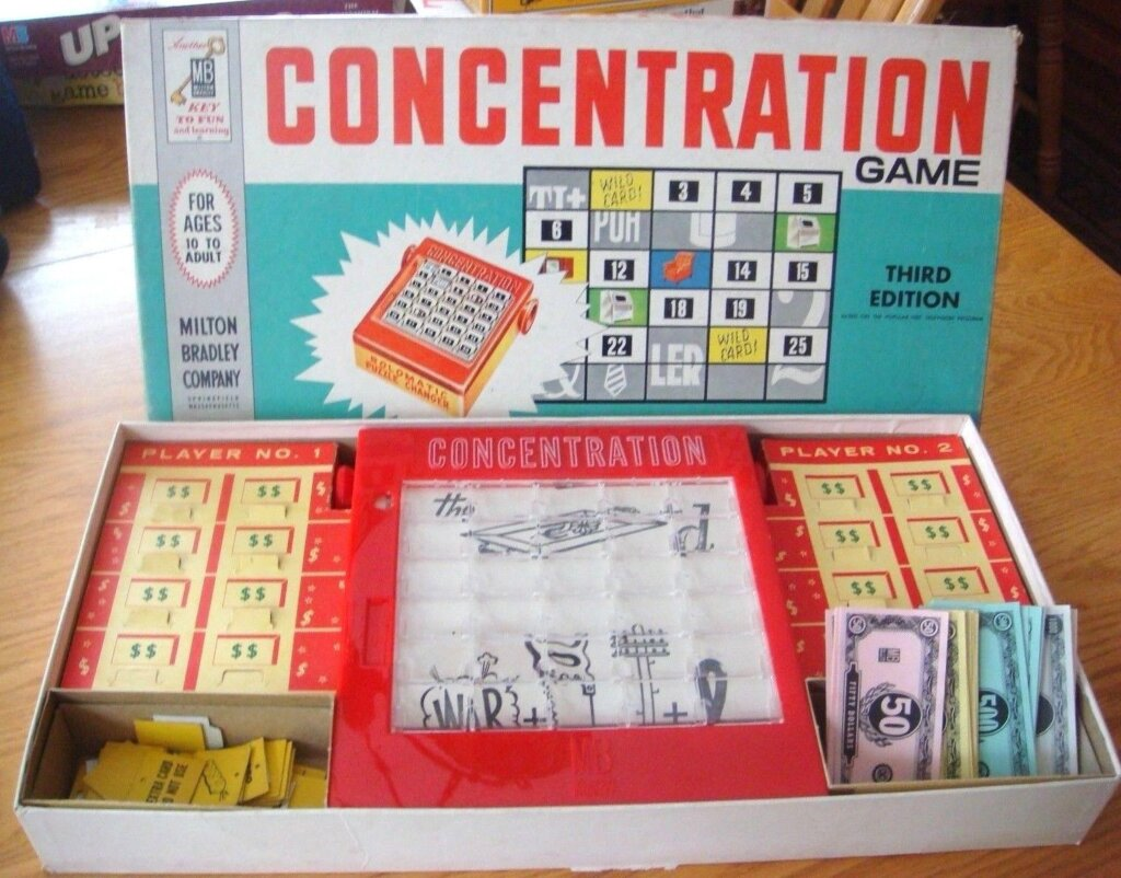 Game Concentration