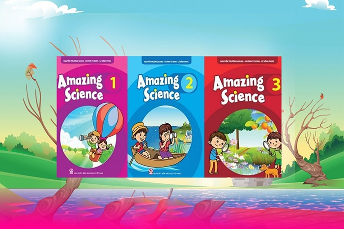 Bộ sách Amazing science 1,2,3