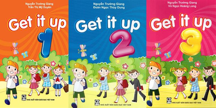 Bộ sách Get it up 1, 2 và 3
