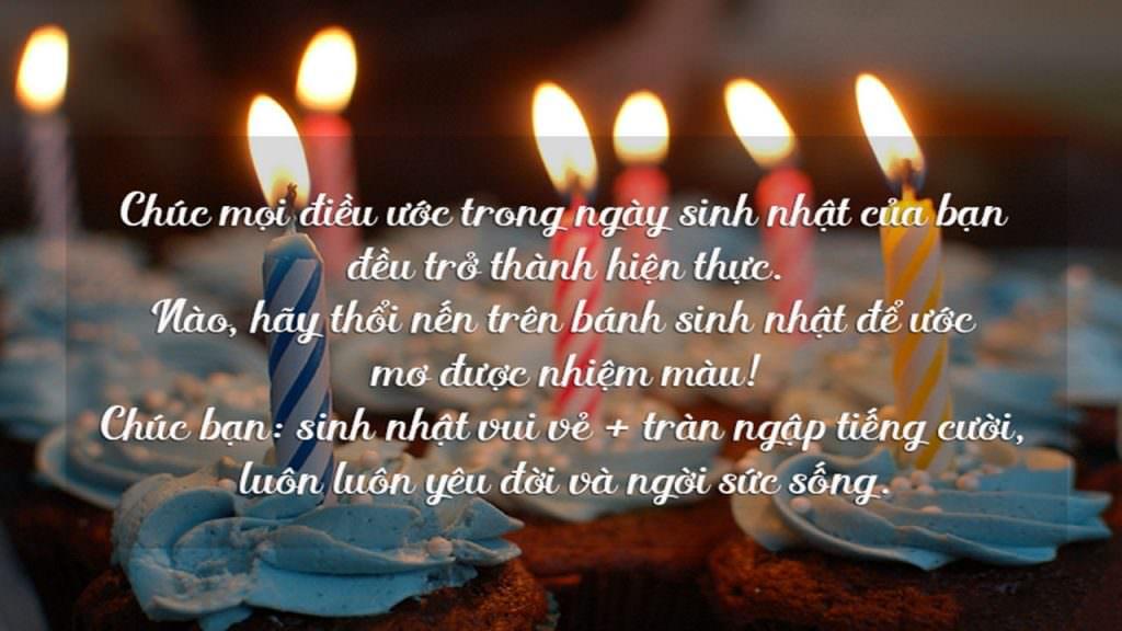 Lời chúc sinh nhật dành cho đồng nghiệp