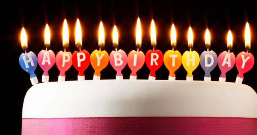 Những lời chúc sinh nhật tiếng Anh hay và ngắn gọn