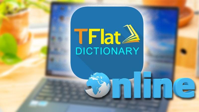 Phần mềm học tiếng Anh TFlat