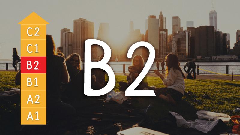 trình độ Anh ngữ B2