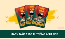 Sách Hack Não 1500 từ tiếng Anh