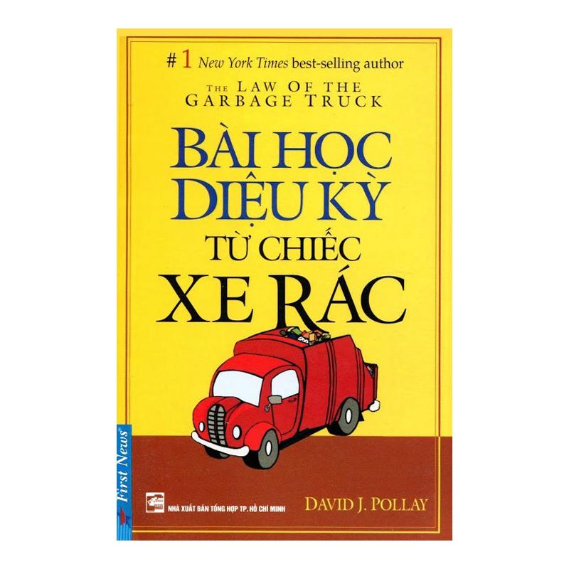 Sách bài học diệu kỳ từ chiếc xe rác