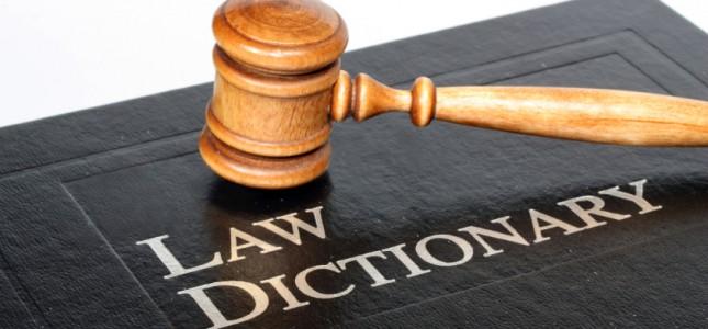 thuật ngữ tiếng Anh ngành luật