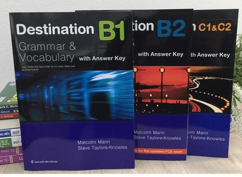 Trọn bộ sách Destination- Giáo trình Tiếng Anh