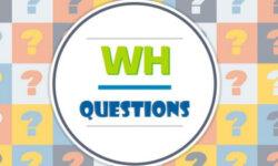 Dạng câu hỏi Wh trong tiếng Anh