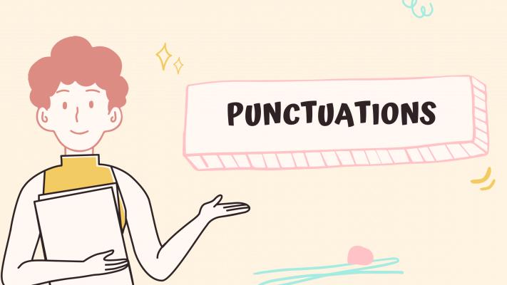 Dấu câu trong tiếng Anh là gì