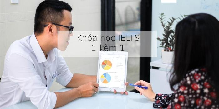 Khóa học luyện thi IELTS 1 kèm 1 tại TPHCM