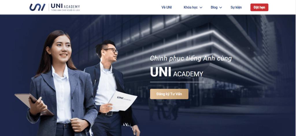 UNI Academy - Tiếng Anh cho người đi làm