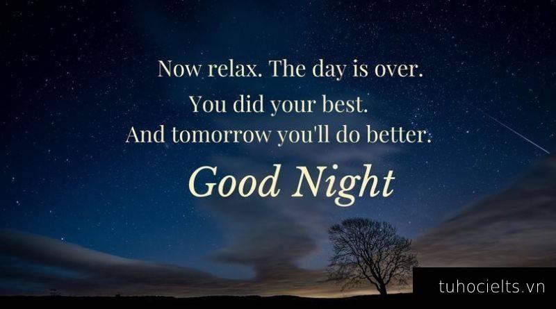 Chúc ngủ ngon bằng tiếng Anh ngắn gọn cho người yêu