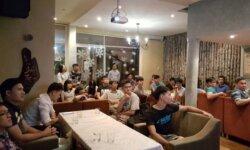 câu lạc bộ nói tiếng Anh với người nước ngoài