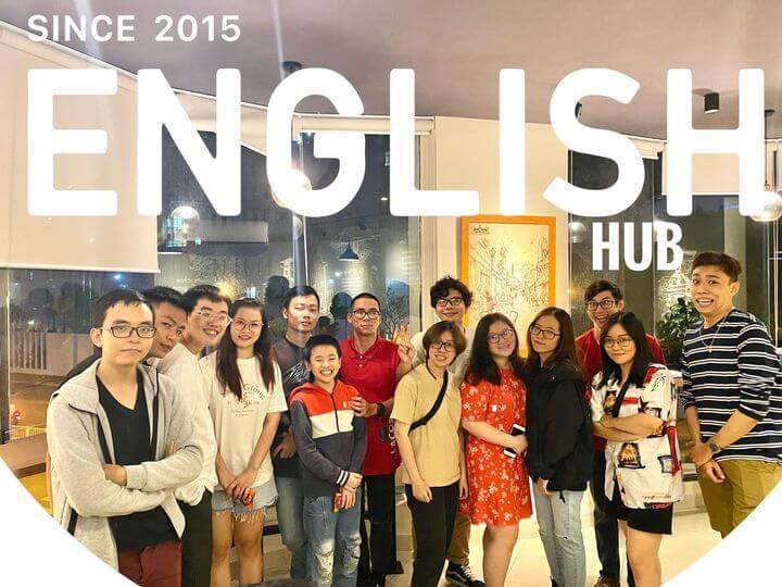 Câu lạc bộ English Hub nói tiếng Anh với người nước ngoài