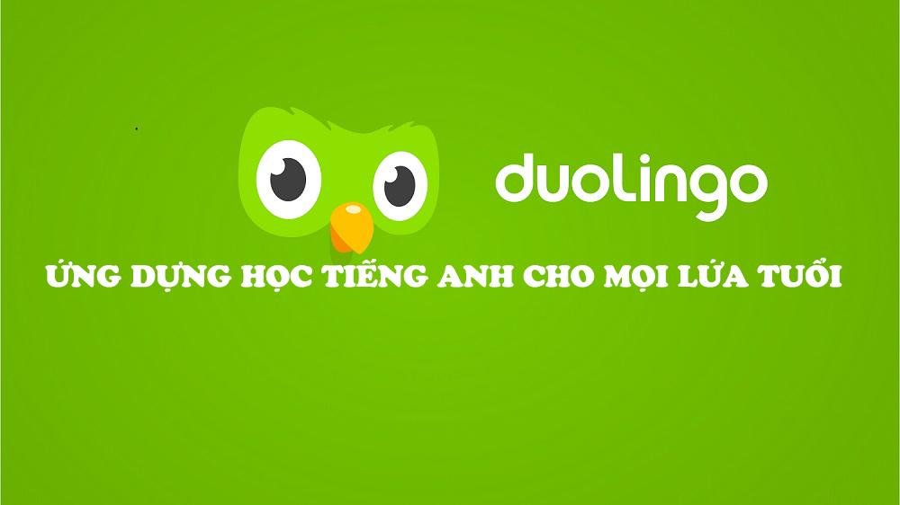 Học tiếng Anh qua Duolingo