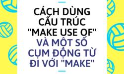 """Cách dùng cấu trúc ''make use of"""" và một số cụm động từ đi với ''make''"""