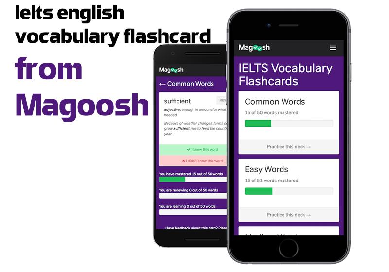 Ứng dụng flashcard tiếng Anh Magoosh English Vocabulary Flashcards