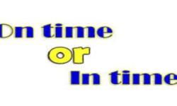 Cách phân biệt giữa On time và In time đơn giản trong tiếng Anh