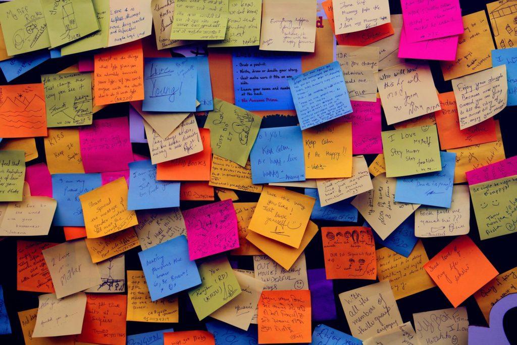 Phương pháp học từ vựng dùng giấy nhớ