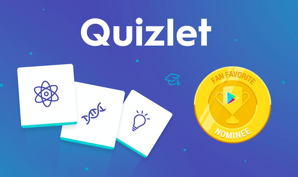 Ứng dụng flashcard tiếng Anh Quizlet.