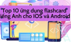 Top 10 ứng dụng flashcard tiếng Anh tốt nhất dành cho hệ điều hành iOS và Android