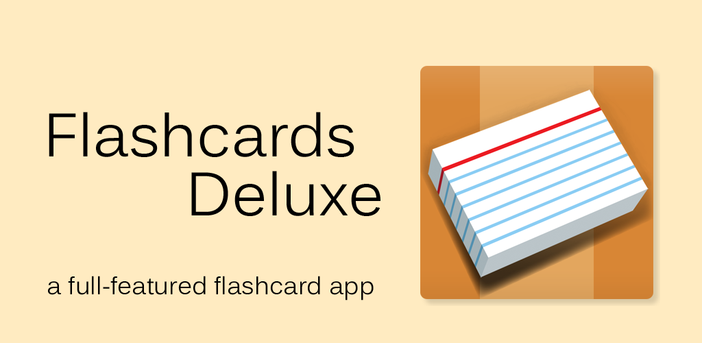 Ứng dụng flashcard tiếng Anh Flashcard Deluxe