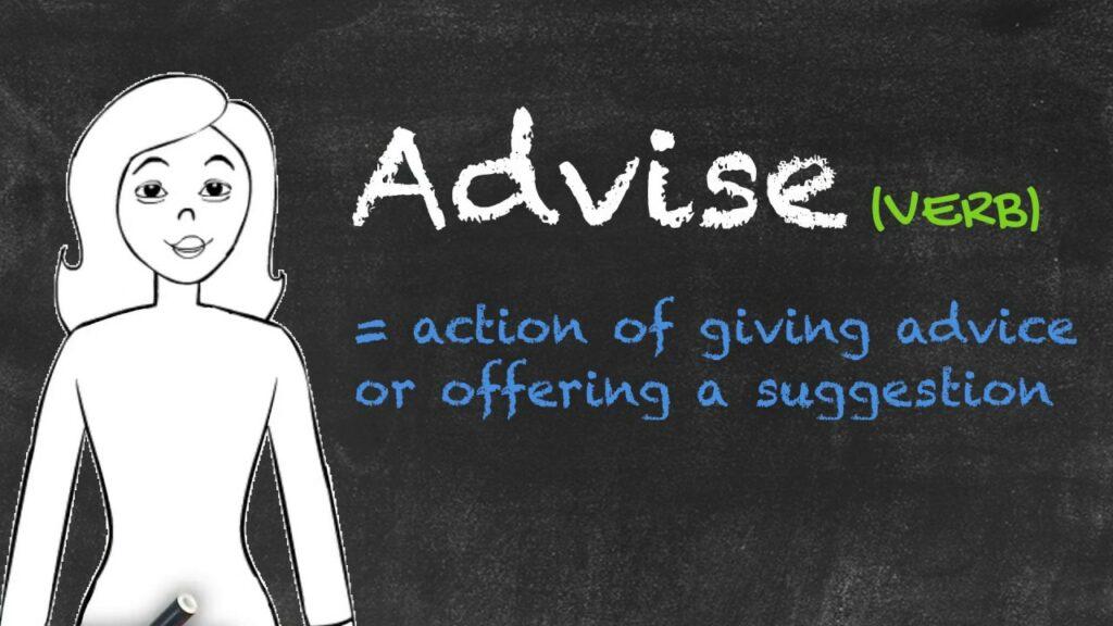 Định nghĩa cấu trúc Advise