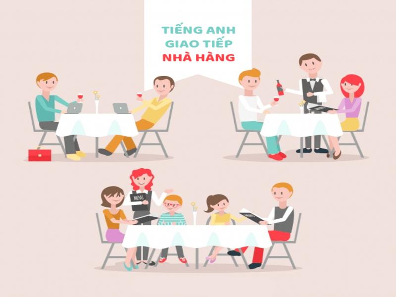 Tiếng Anh giao tiếp trong nhà hàng