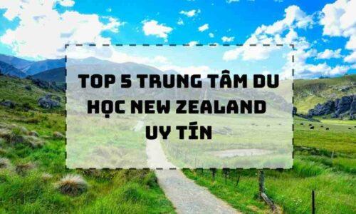 TOP 5 trung tâm tư vấn du học New Zealand uy tín nhất 2021